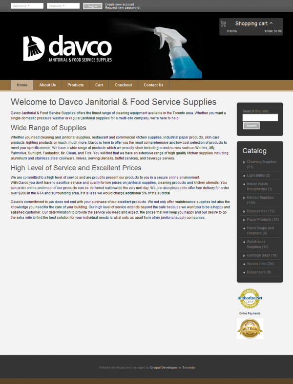 Davco Janitorial & Food Service Supplies